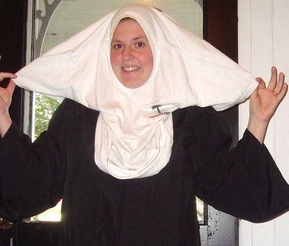 How to Make a Nun Costume