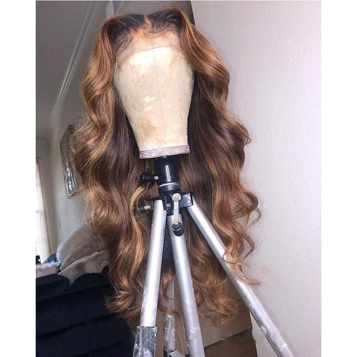 1B/27 Ombre Color Lace Front Human Hair Wigs With Baby
