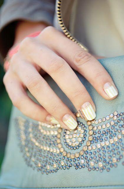 I want pretty: Trend- Nail art!