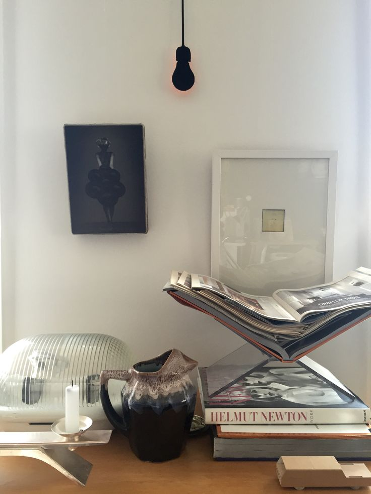 More collections on #Pastoe cupboard. Photo #art by #Schilte&Portielje
