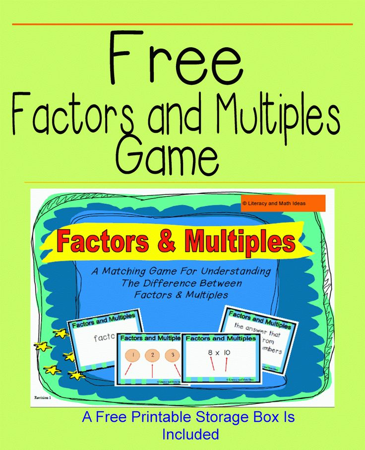 Best  Factors And Multiples Ideas On   What Is