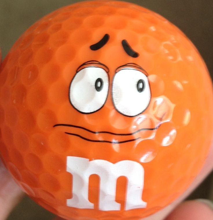 M and M golf ball from NYC!!!