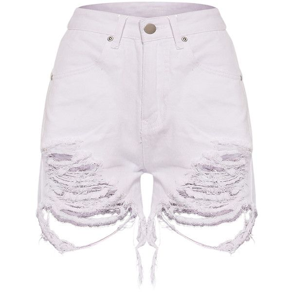 The 25  best White jean shorts ideas on Pinterest | White denim ...