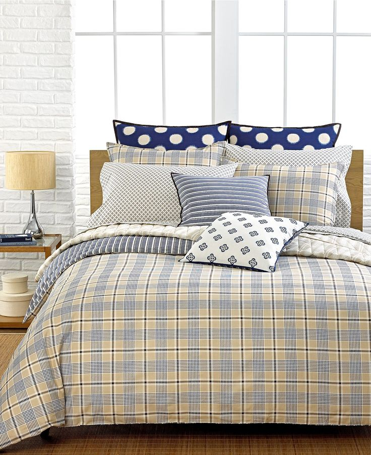 Tommy Hilfiger Bedding Spectator Plaid Comforter