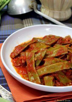 fagoli piatti mangiatutto Giabattoni Marconi al pomodoro