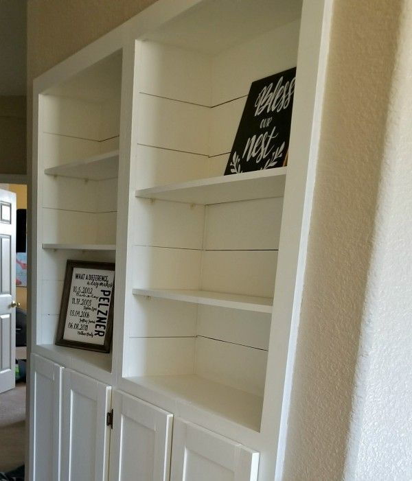 The Easiest And Cheapest Way To Diy Plywood Shiplap Cheapest Diy Easiest Plywood Shiplap Shiplap Faux Shiplap Shiplap Wall Diy Diy Wood Wall