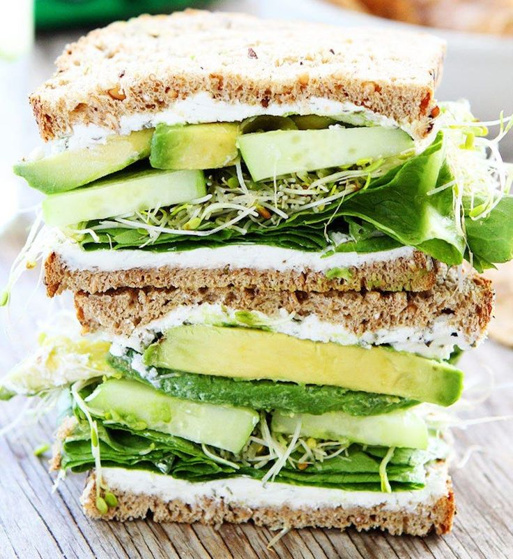 Baked tofu, tempeh bacon, hummus, cheese, beans, and lentils are all vegetarian protein sources that work perfectly on sandwiches. Here are some recipe ideas, plus tips from a registered dietitian.