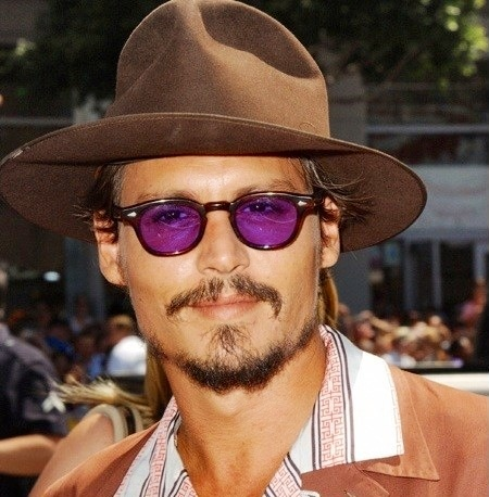 69dca7fe196 Discover ideas about Johnny Depp. Johnny Depp in Moscot Lemtosh Tortoise ...