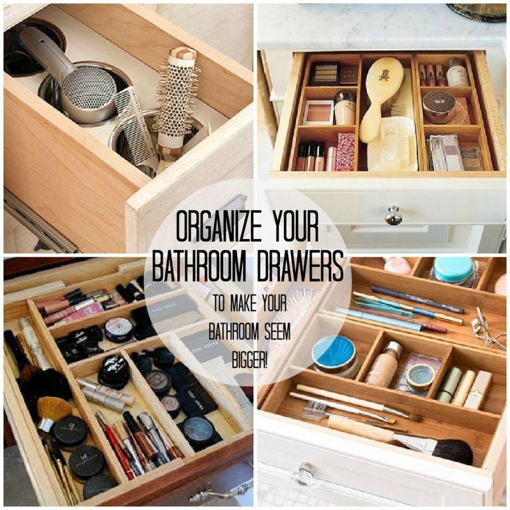 Organizing Bathroom Shelves: 1000+ Ideas About Organize Bathroom Closet On Pinterest