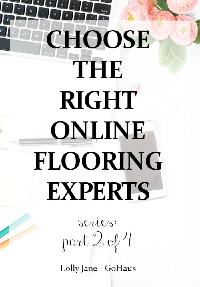 How to choose the right online flooring experts. Buying floors online is a big deal, do your research! We love the free samples from GoHaus!