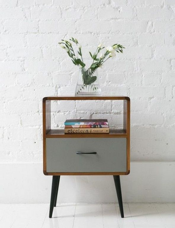 20 Best Retro Bedside Table Designs For Your Classic Bedroom Retro Home Decor Vintage Home Decor Furniture
