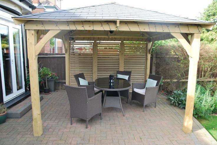Cotswold Garden Canopy Gazebo - Garden Canopies - liveoutside.co.uk