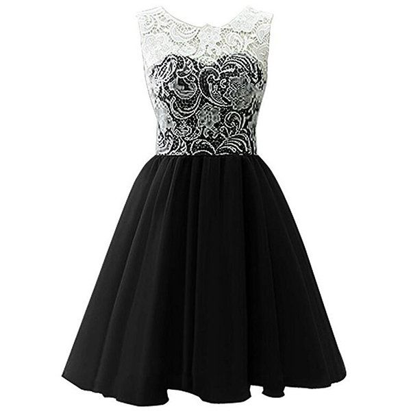 Lace Patchwork Sleeveless O-neck Princess Dress For Kids Girls On Sale - NewChic