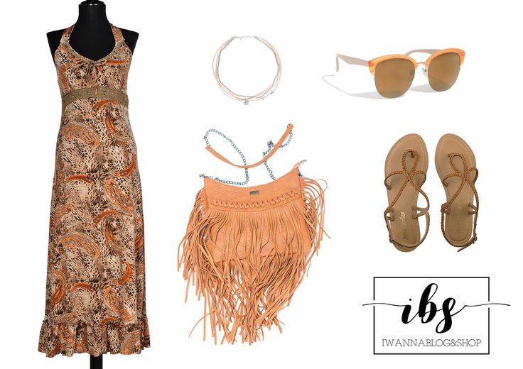 Maxi Boho Outfit, Summer Outfit, Maxi Dress Outfit