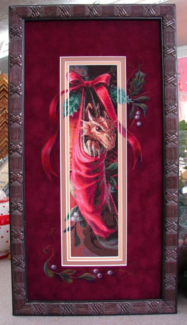 Rensel Studio: OMG!!!!!!!!!! Never seen something so stunning once framed!!!