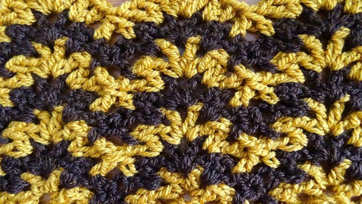 Ripple V Stitch - Crochet Tutorial