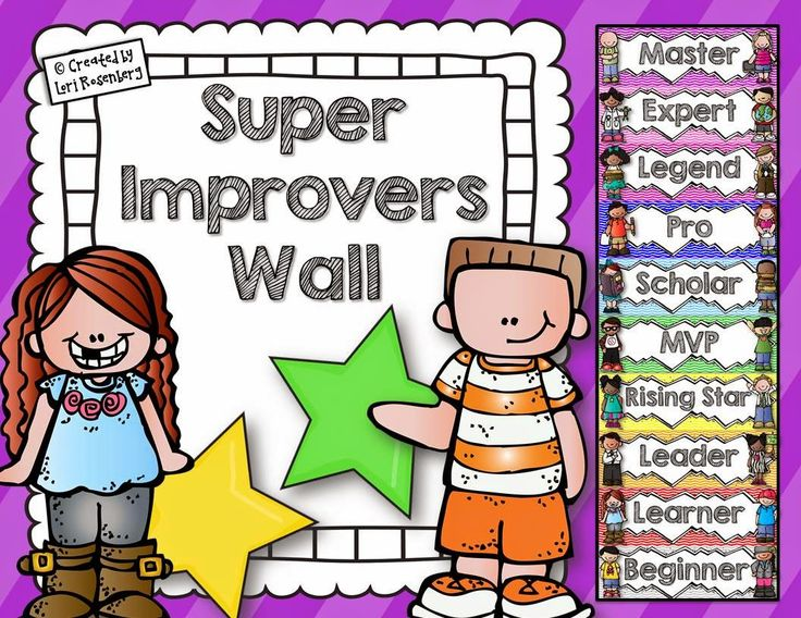 Teaching With Love and Laughter: Super Improvers Wall and WBT Classroom Rules Posters