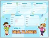 #Printable Meal Planner! Write your own healthy meal plans!