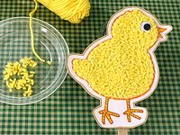 Fuzzy Chick Picture Craft