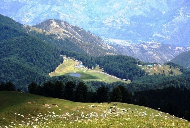 Dainkund peak, near Dalhousie, Himachal Pradesh