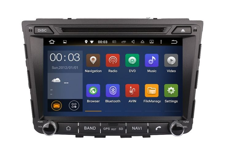 FREE GIFTS Quad Core Android 5.1 Fit HYUNDAI IX25  2014- 2016 2017 Car DVD Player GPS Radio DVD Radio Navigation multimedia PC