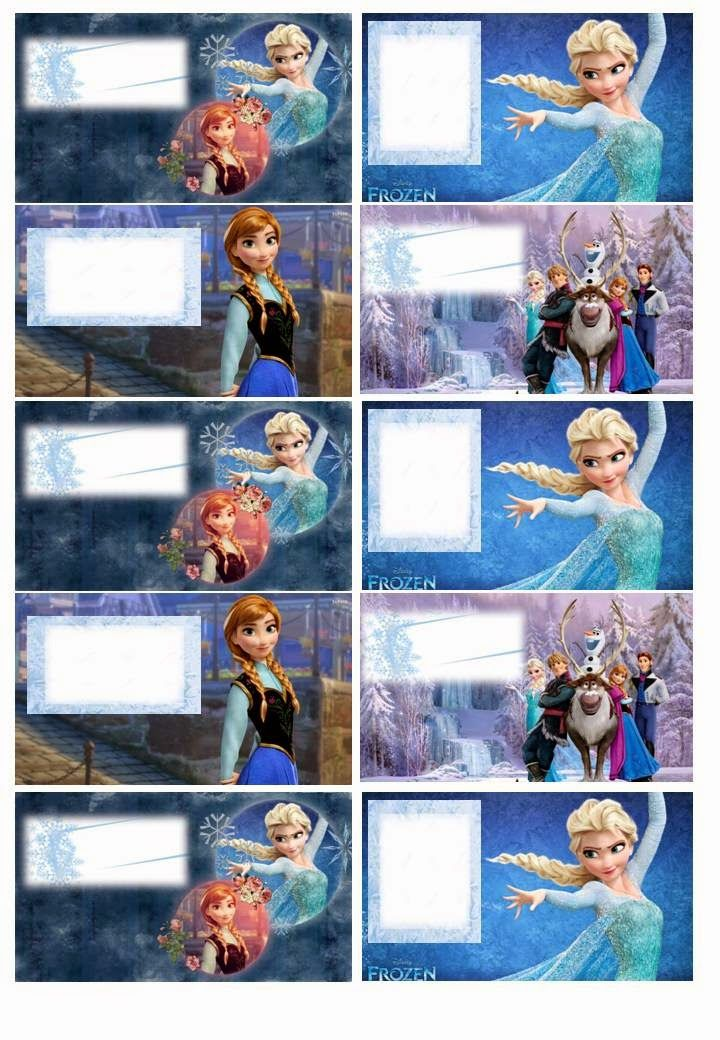 9 best images about etiquetas de frozen on pinterest