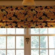 Make your own no-sew faux Roman shade! Need an easy window treatment? I developed a way to make a faux Roman shade by using a piece of fabric and thr...