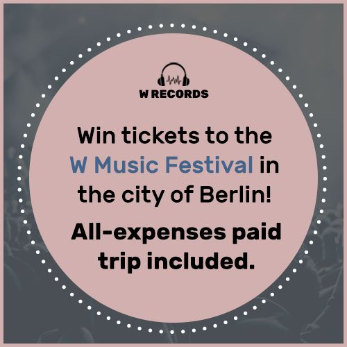 Win a trip to W Music Festival! Buy two records and enter for a chance to win here.