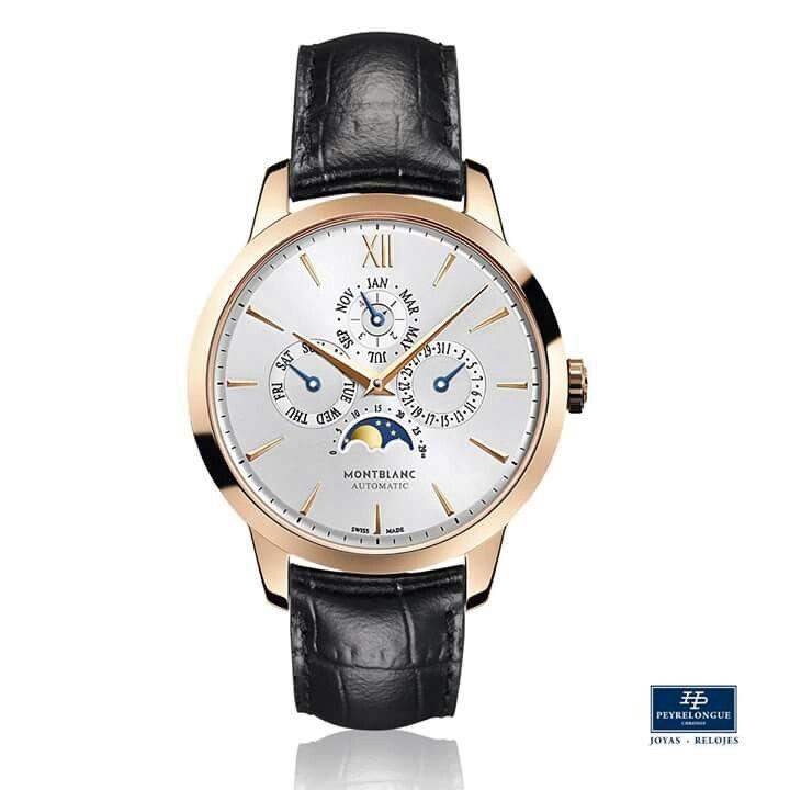 #TiempoPeyrelongue Montblanc Heritage Spirit Perpetual encarna los más delicados detalles de la más fina relojería suiza. El calendario perpetuo, una de las grandes complicaciones, siempre indica la fecha correcta sin necesidad de corrección manual, incluyendo los meses de menos de 31 días y los años bisiestos. #watchoftheday / #watchmania / #reloj / #dailywatch / #watchfam / #watchnerd / #horology / #watchgeek / #watchaddict / #luxury / #watchcollector / #timepiece