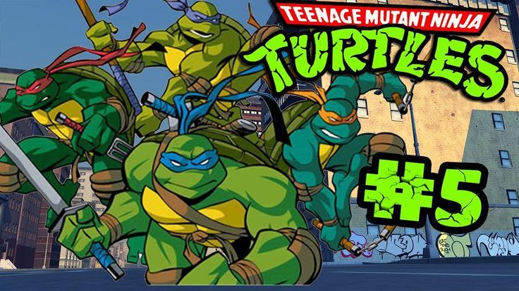 Retro Now|Teenage Mutant Ninja Turtles: Turtles in Time Stage#5|HD