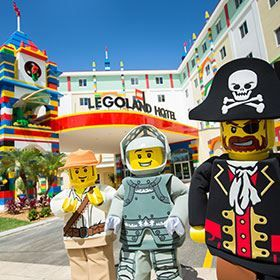 Enjoy your vacation at LEGOLAND California Resort with over 60 rides, shows, the CHIMA Water Park and more attractions. Experience awesome with your family!