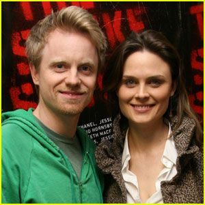 Emily Deschanel & husband David Hornsby - actor & writer