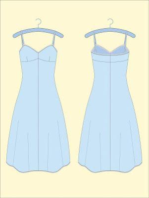 FREE Vintage Slip Sewing Pattern / Tutorial