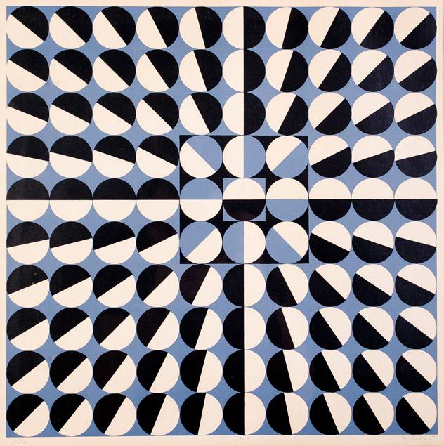 Milan Dobeš  - looking at the movement in such simple, clean, optical ways.