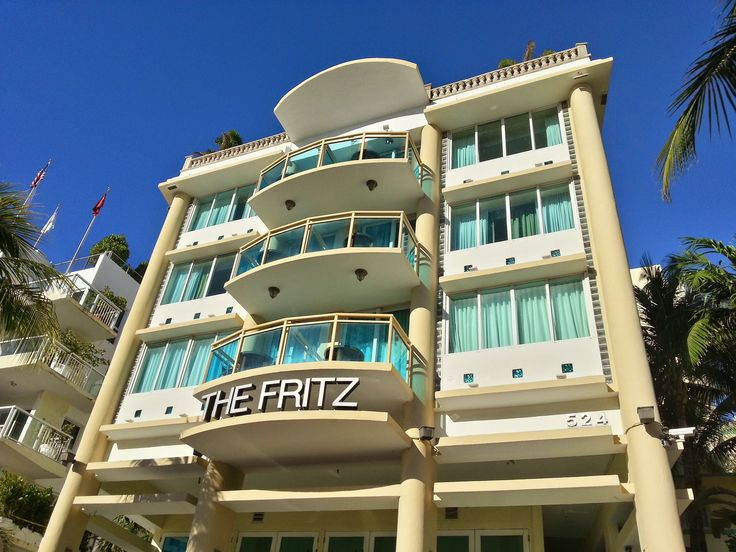 THE FRITZ HOTEL Ocean Drive, Miami South Beach Motiv März 2017