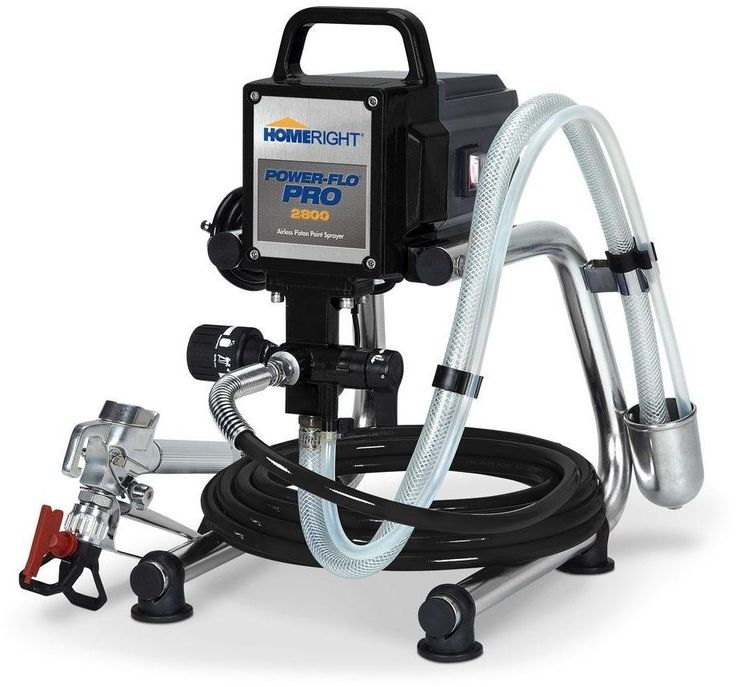 HomeRight Airless Paint Sprayer Power-Flo Pro 2800 Spray Gun Project Painter New #HomeRight