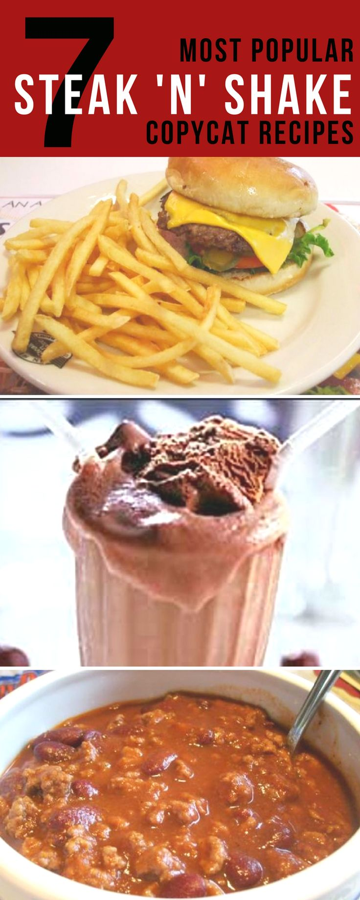 Best Steak N Shake Copycat #Recipes