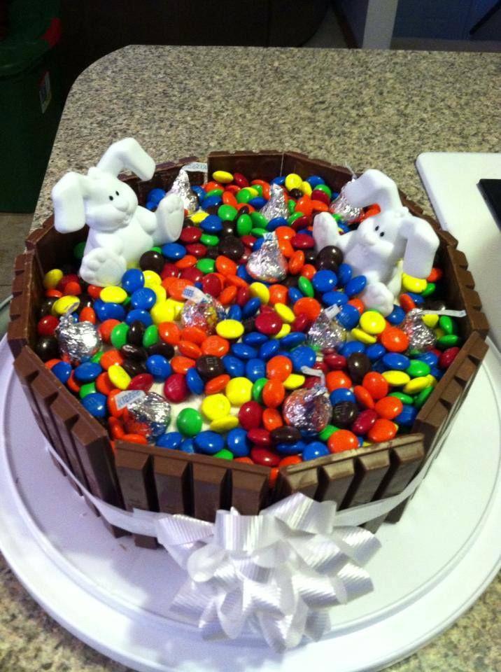 Kit kat easter cake peggy s baked goods pinterest