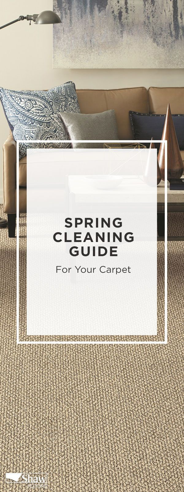 Save these carpet cleaning hacks, including stain removal tips and expert advice on steam cleaning, for your spring cleaning checklist. #cleaning #cleaninghacks #cleaningtips #carpet #carpetclceaning #springcleaning