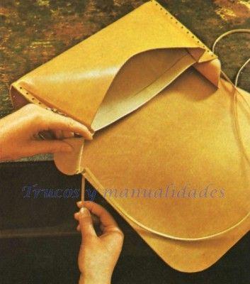 Cómo hacer un bolso de cuero 7