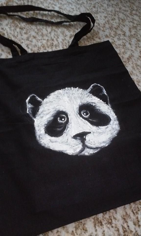 Plátěnka s pandou