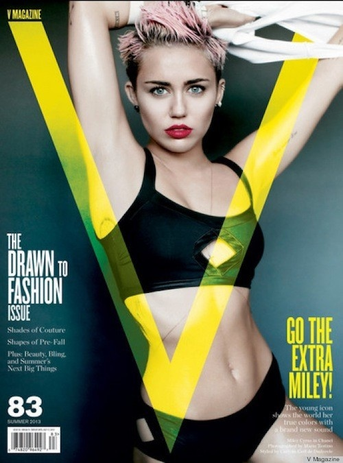 """Miley Cyrus Underboob Pic – New Trend or Same Old """"Sex Sells"""" (PHOTOS)"""