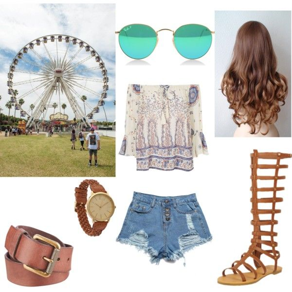 Coachella by lucywerta on Polyvore featuring polyvore fashion style Topshop M.S.P. Black Rivet