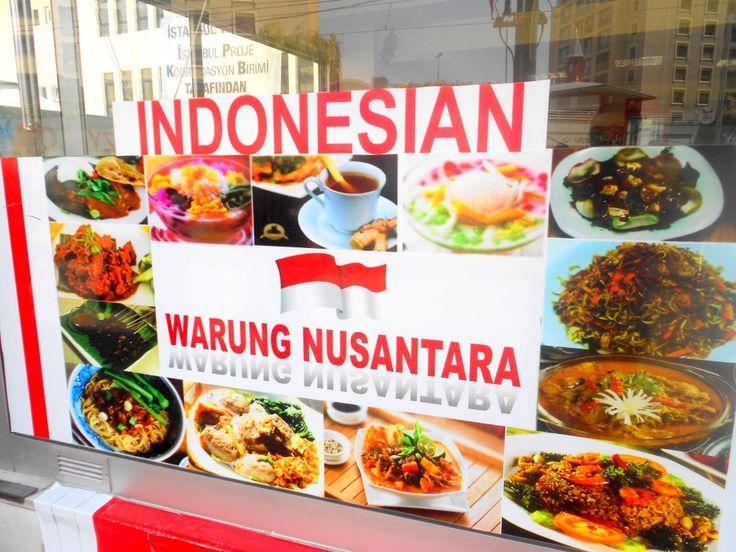 Warung Nusantara Di Istanbul, Turki http://www.perutgendut.com/read/warung-nusantara-di-istanbul-turki/5735 #PerutGendut #Food #Kuliner #News #Indonesia #WisataKuliner
