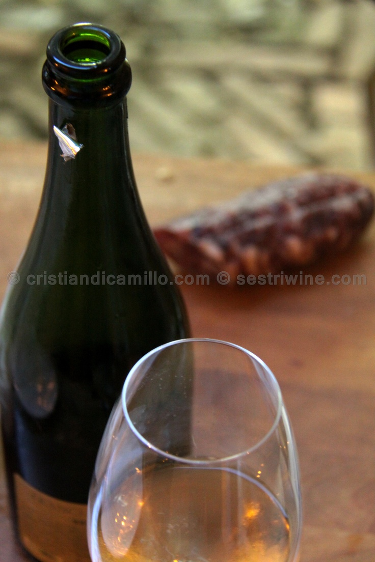 what better? #wine and #salame #photo