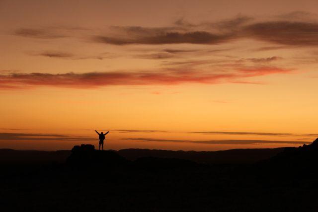 Chris sunset freedom