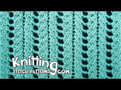 Lace Ribs | Knitting Stitch Patterns