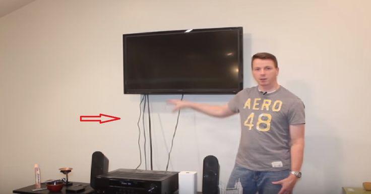 Les 17 meilleures id es de la cat gorie cacher les c bles - Comment cacher les cables tv mur ...