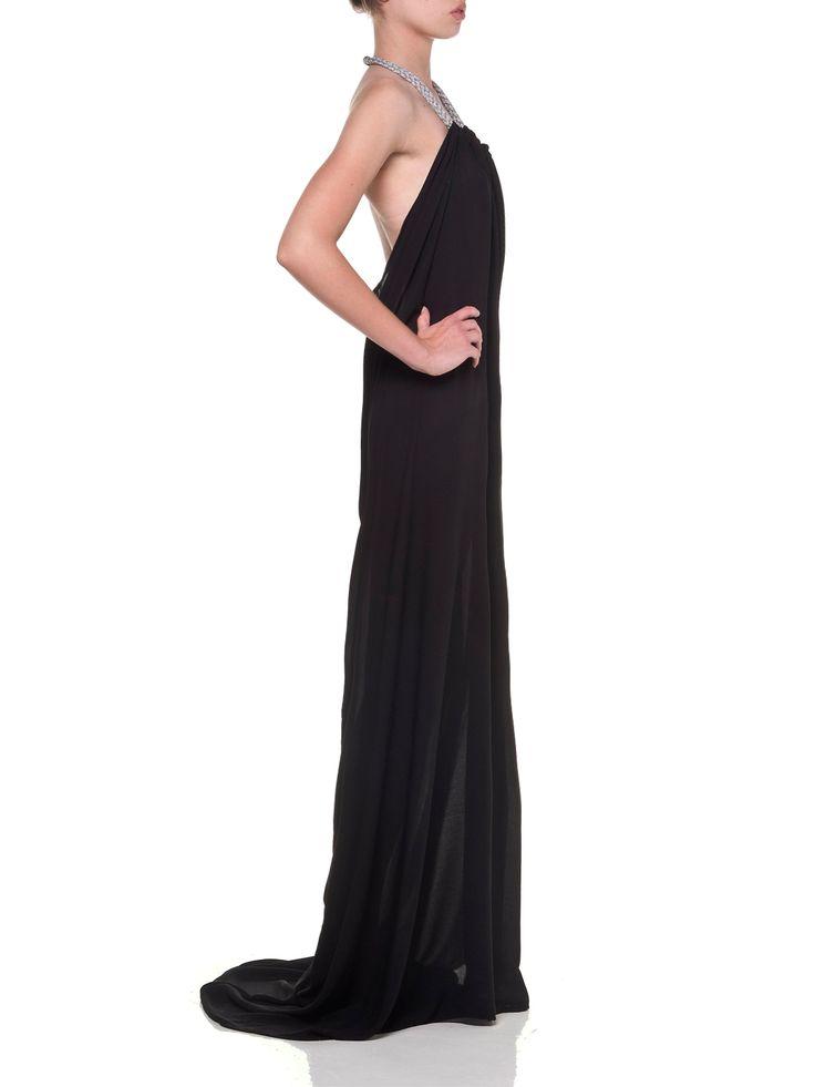 Vassilis Thom, Backless Black coctail dress