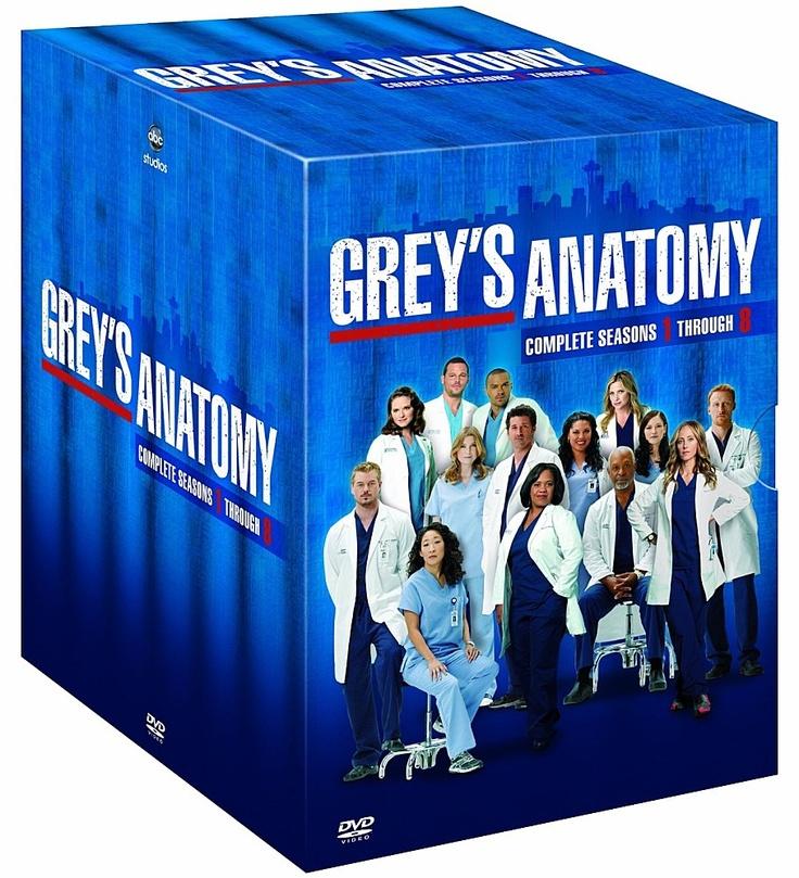 Grey's anatomy saison 1 à 8 en dvd